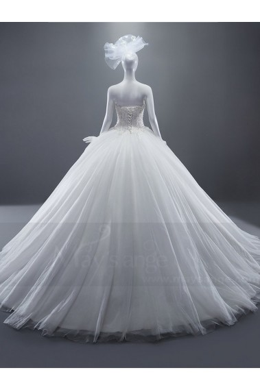 Long wedding dress - Bridal gown M367 - M367 #1