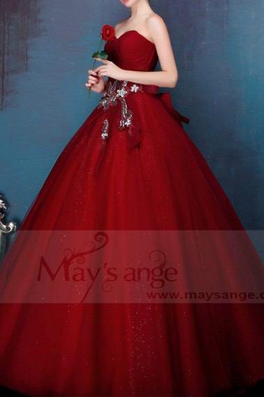 Long bridesmaid dress - P091 - P091 #1