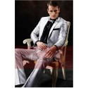 Costume Gris Chic - Ref MEN016 - 02