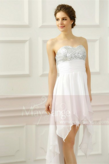 Short evening dress - C221 - C221 #1