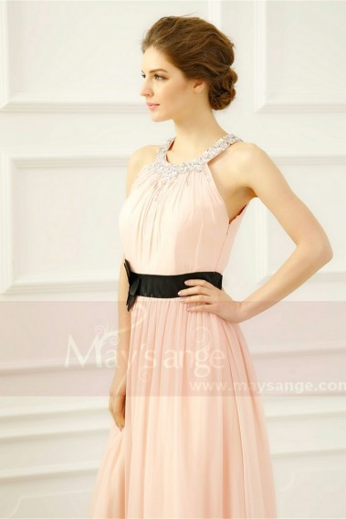 Pink evening dress - Formal evening dresses Abigail - L265 #1