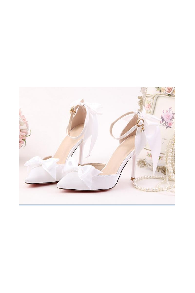 chaussures pas cher CH081 blanc - Ref CH081 - 01