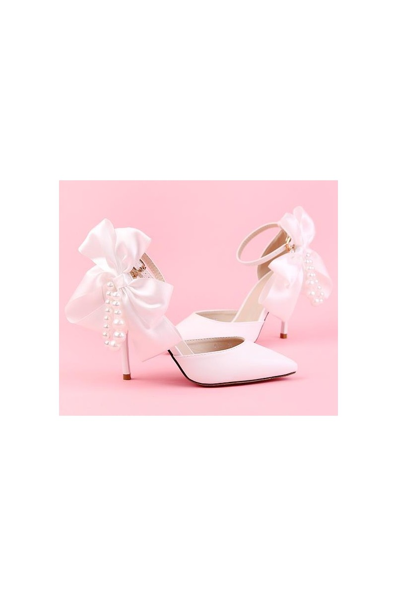 chaussures pas cher CH084 blanc - Ref CH084 - 01