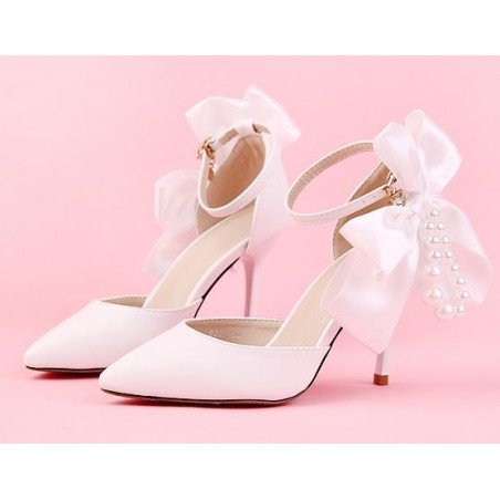 chaussures pas cher CH084 blanc - Ref CH084 - 03