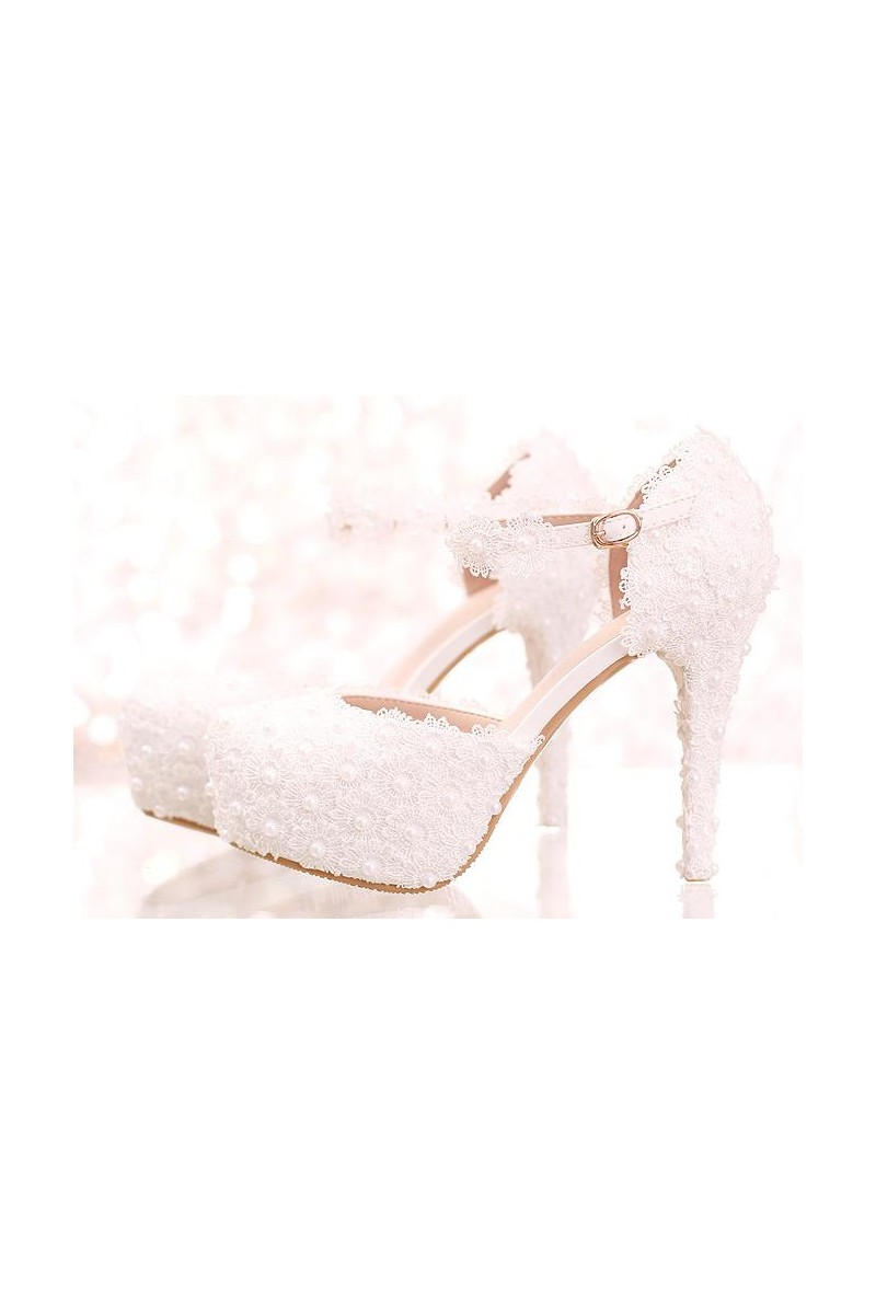magasin de chaussure CH086 blanc - Ref CH086 - 01