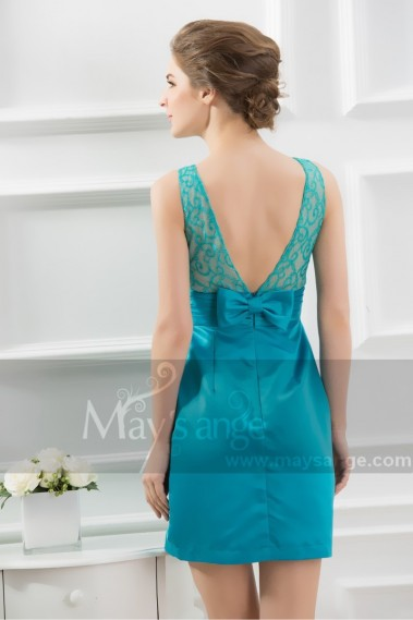Backless cocktail dress - C715 - C715 #1