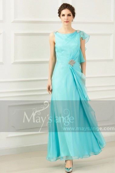 Blue evening dress - L769 - L769 #1