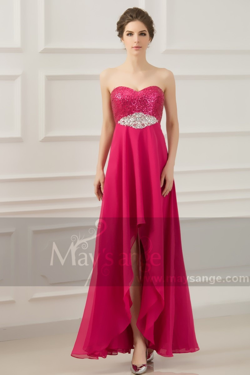 2b6ebd4e72e BARBIE robes de soiree fushia - Ref L651 - Robe de cocktail