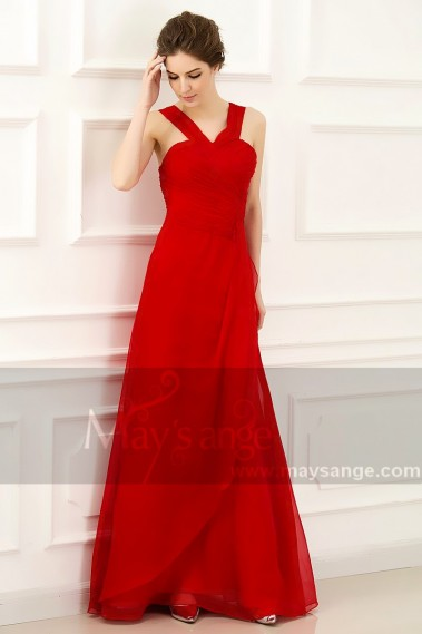 Evening Dress with straps - L772 - L772 #1