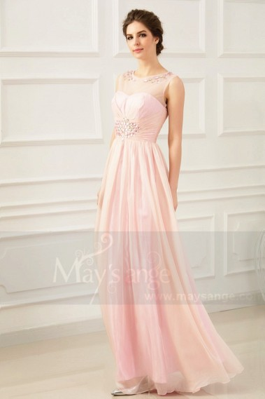 Pink evening dress - red carpet L670 - L670 #1