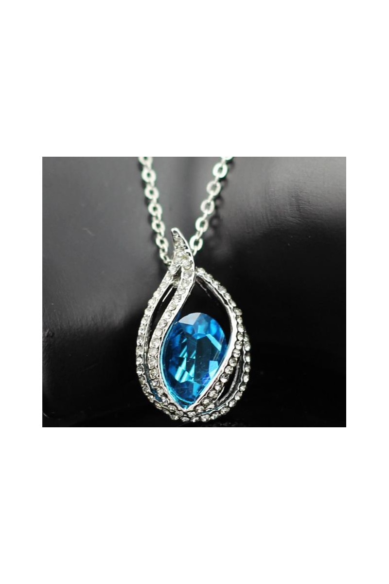 Bijoux F024  blue lake - Ref F024 - 01