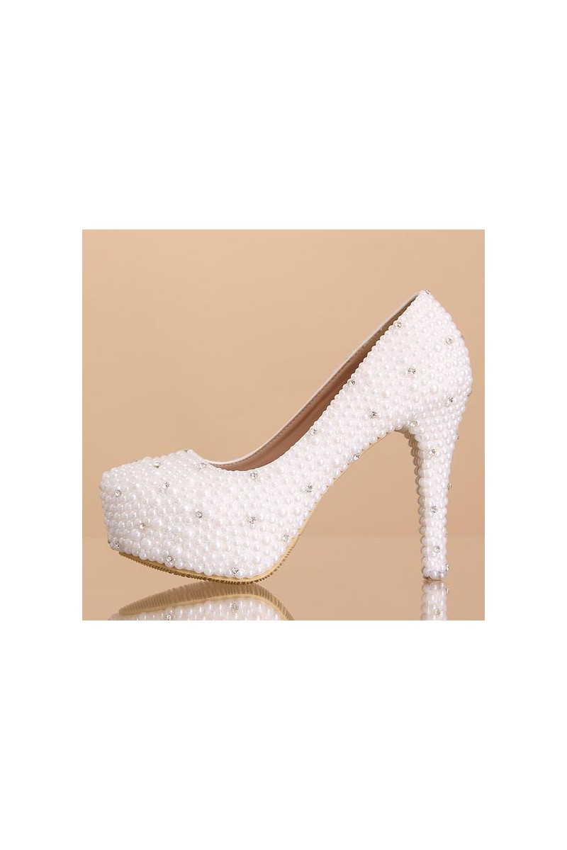 Promotion  chaussure femme CH060 blanc   - Ref CH060 Promotion - 01