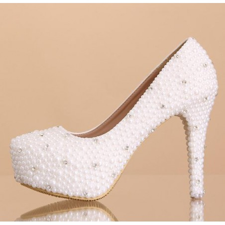 Promotion  chaussure femme CH060 blanc