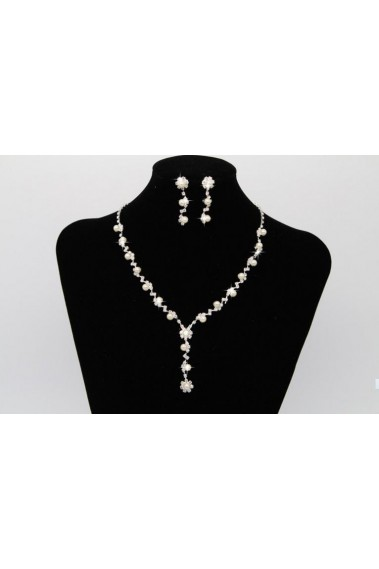 Wedding beaded necklaces set for women - E036 #1