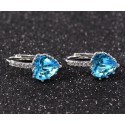 Blue Butterfly Earings B058 - Ref B058 - 03