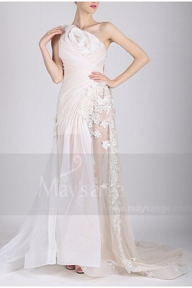 White wedding dress - L730 - L730 #1