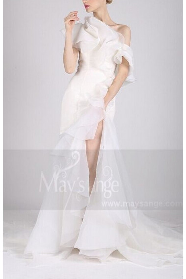 White wedding dress - L731 - L731 #1