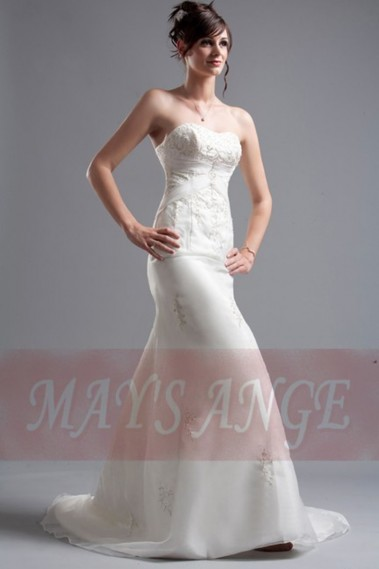 Long wedding dress - Affordable wedding dresses Simplicity - M032 #1
