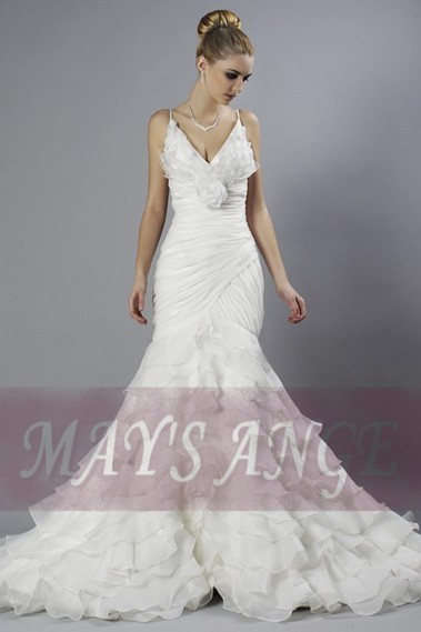 Long wedding dress - Bridal wedding dresses Destiny cheap and beautiful - M034 #1