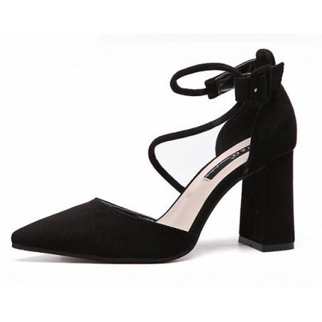 chaussure femme CH092 noire - Ref CH092 - 05