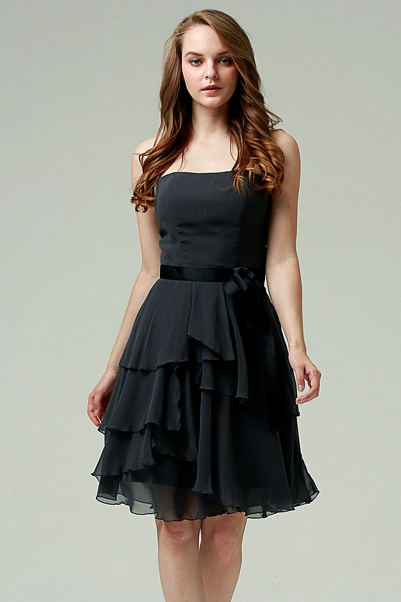 cocktail black party dress