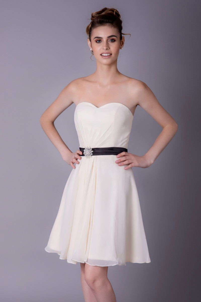Cute White Party Dress - Ref C951 - 01 589a4332fa6b